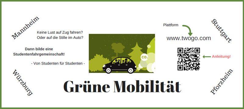 Grüne Mobilität an der Hochschule